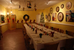 Clock Room Christmas 2014